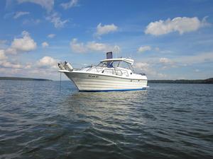 Yacht auf dem Plauer See