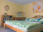Schlafzimmer im Ferienhaus Falkert