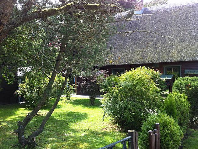 Garten an der Ausflugsgaststätte Quellental