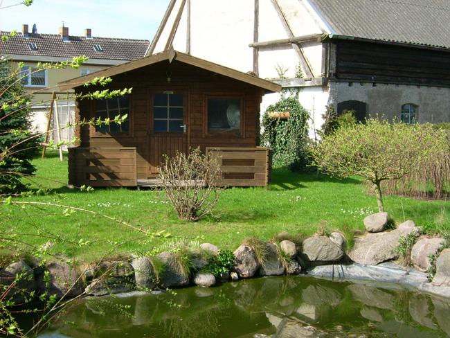 Teich & Hütte