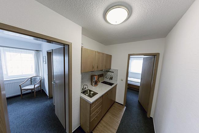 Ansicht vom Appartement