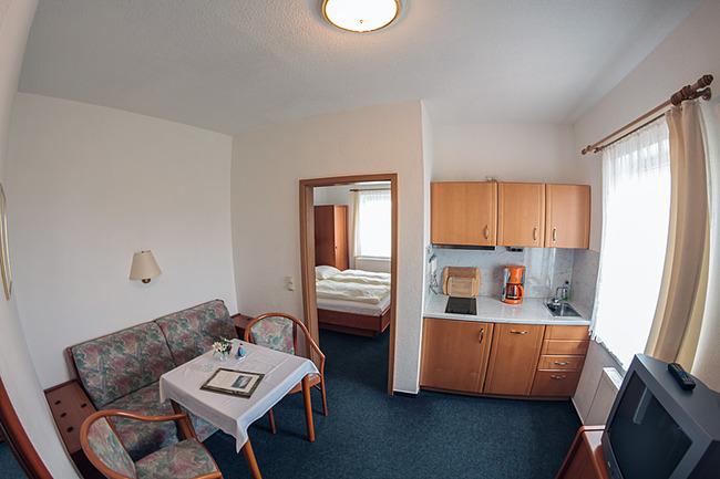 Appartement mit Miniküche