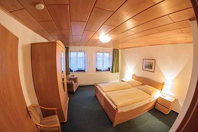 Schlafzimmer im Appartementhaus