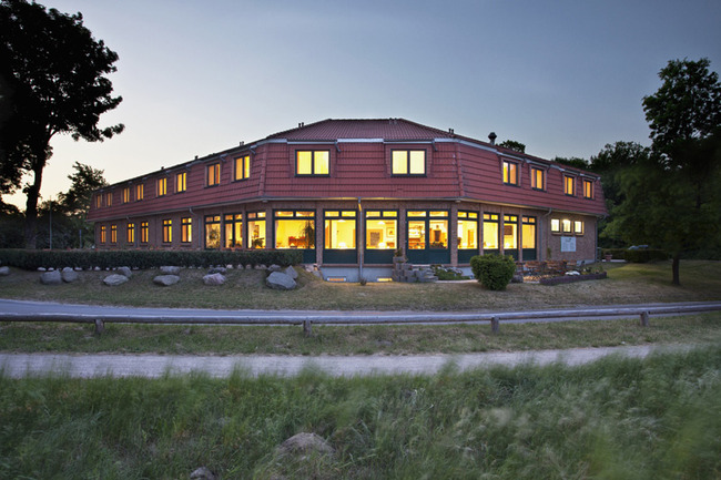Nationalparkhotel am Abend