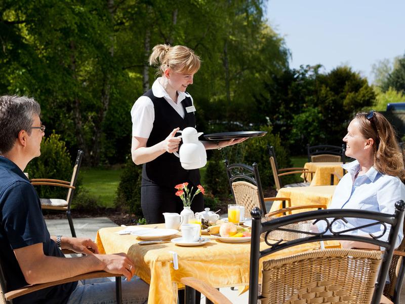 Restaurant Strandauster - Sommerterrasse
