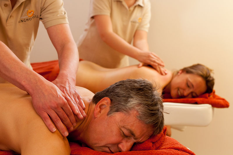 Wellnessanwendung - Massage