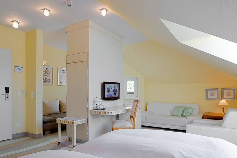 Doppelzimmer balkon terrasse ringhotel strandblick