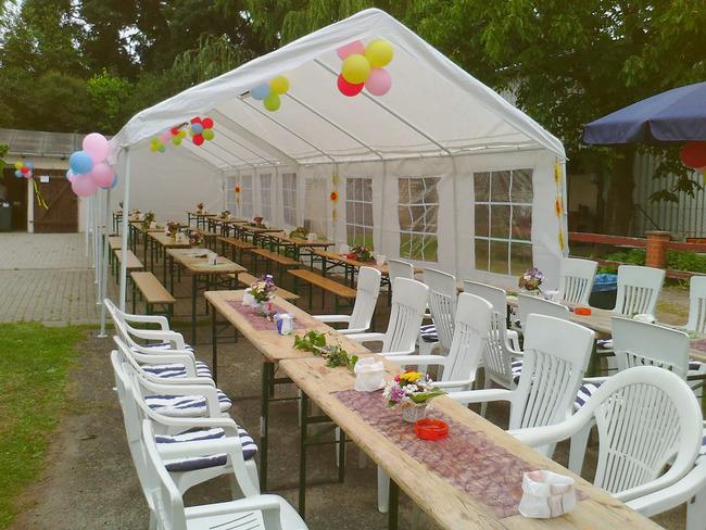 Garten Partyzelt
