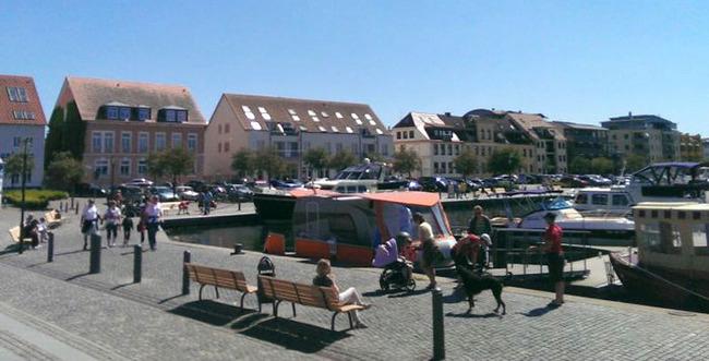 Hafenzeile Waren (Müritz)