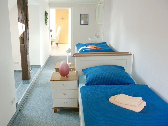Ferienwohnung - Schlafzimmer