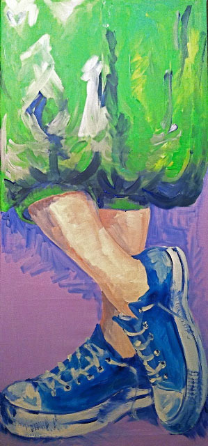 Malerei Sneaker