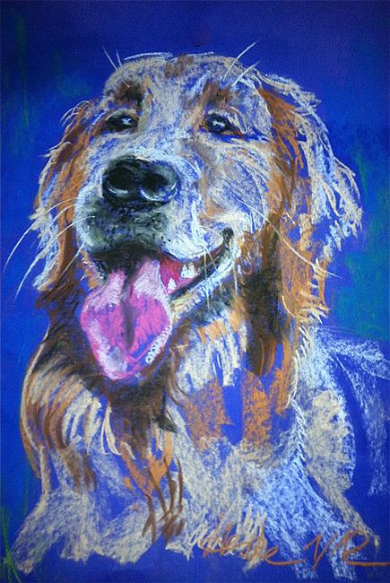 Malerei Hund