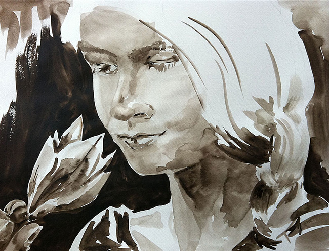 Malerei Portrait