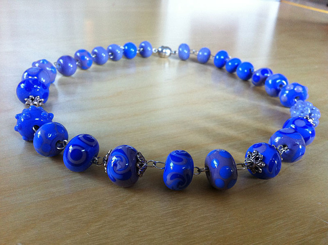 Glaskunst handgewickelte Perlen