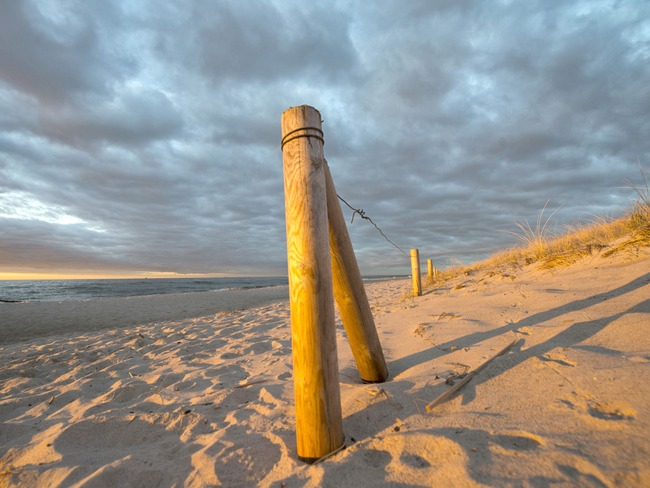 Strand - Sonnenuntergang