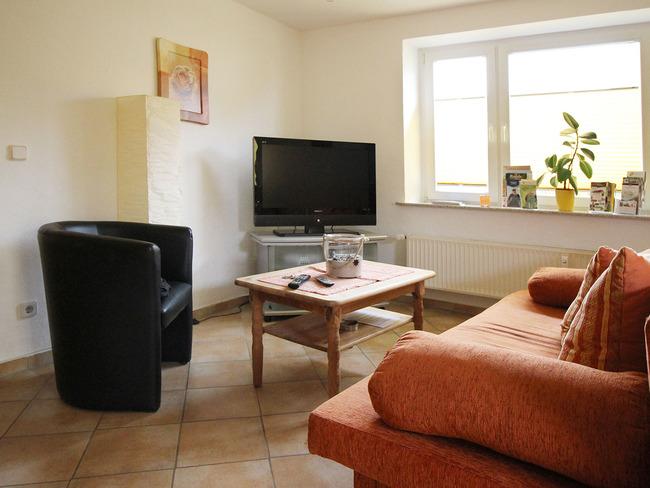 Ferienwohnung Dania - Wohnzimmer