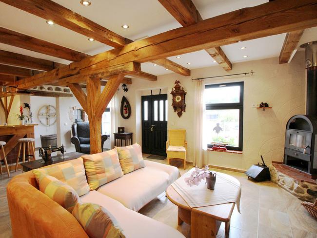 Ferienwohnung Scheune - Wohnzimmer