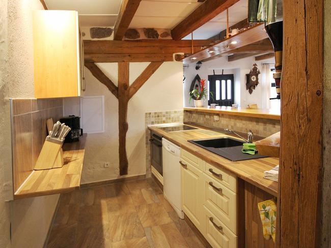 Ferienwohnung Scheune - Küche