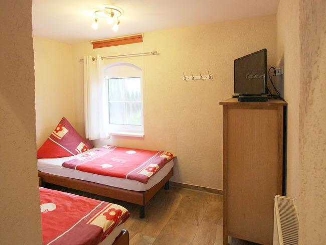 Ferienwohnung Scheune - Schlafzimmer
