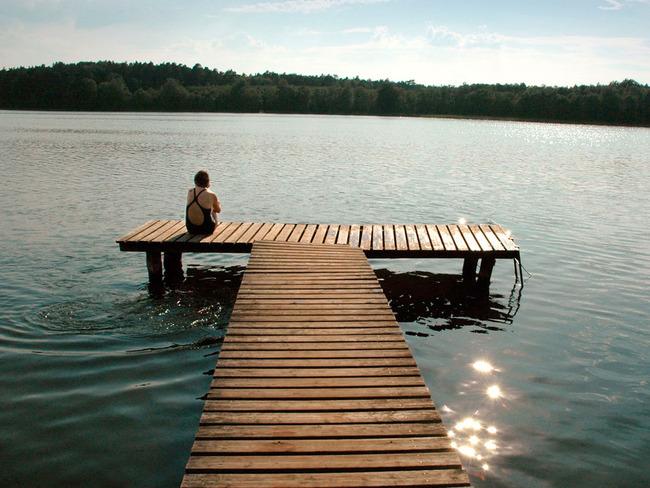 Leppinsee - Ufer, See, Steg
