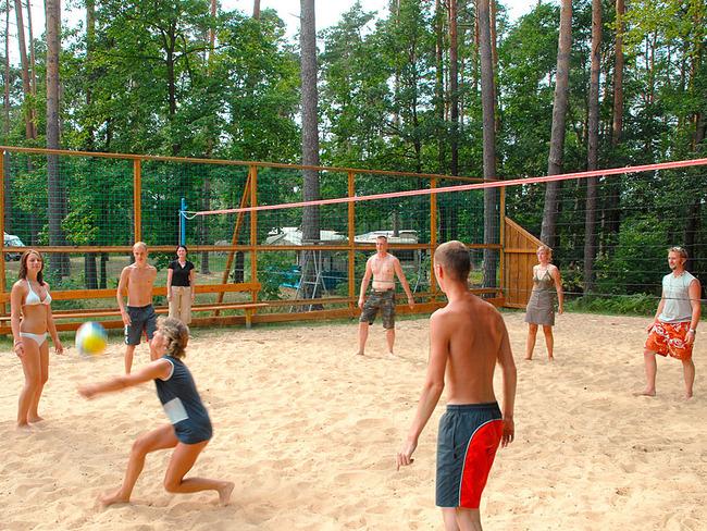 Pälitzsee Volleyballspieler