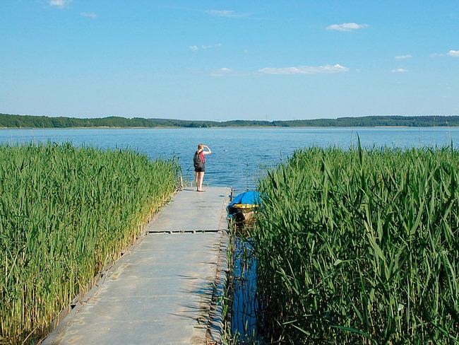 Zwenzower Ufer Bootssteg