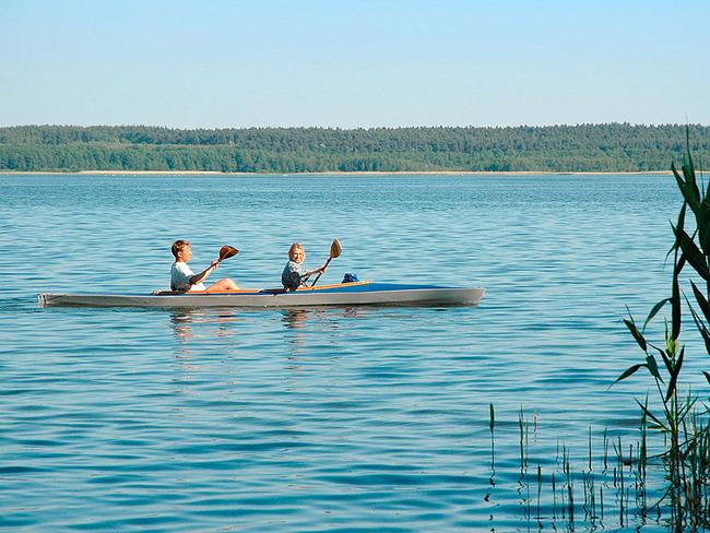 Zwenzower Ufer Paddler