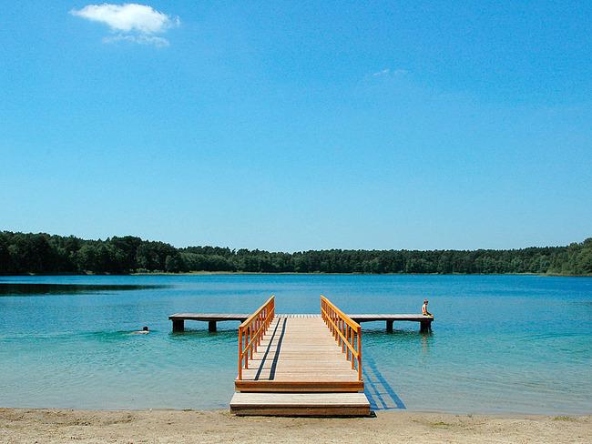 Weißer See Badestelle