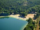 Weißer See Luftbild