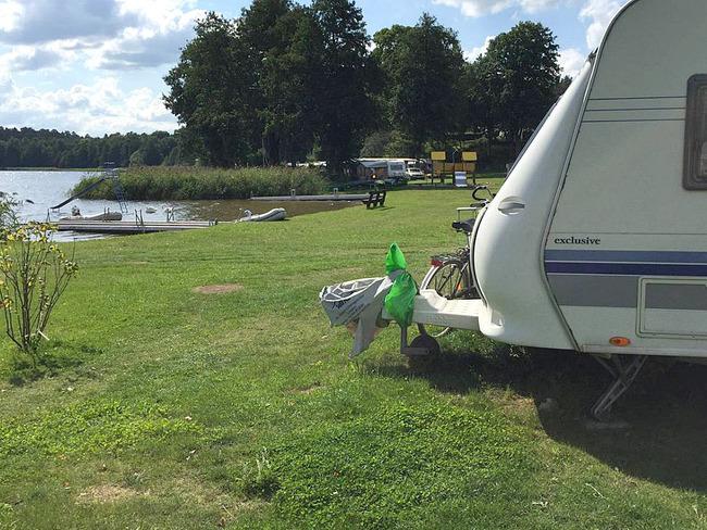 Mietwohnwagen Campingplatz Zwenzower Ufer