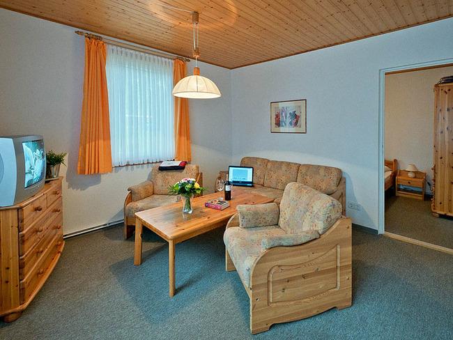Ferienhaus Amsel Wohnzimmer
