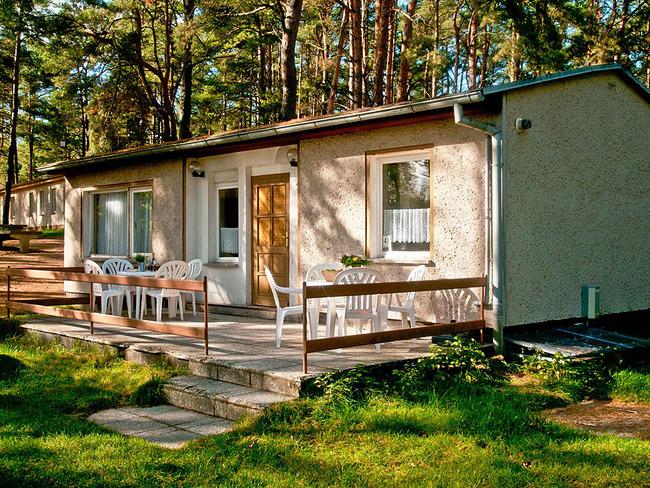 Ferienhaus Zaunkönig - außen