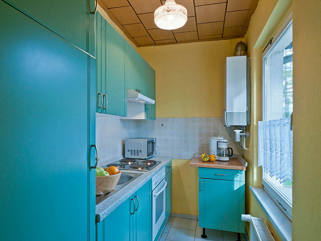 Ferienhaus Zaunkönig Küche