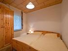 Ferienhaus Zaunkönig Schlafzimmer