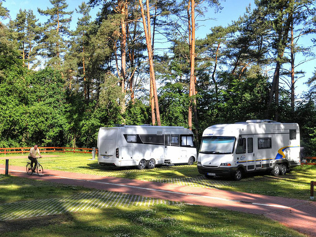 Havelberge Wohnmobilpark - Stellplätze