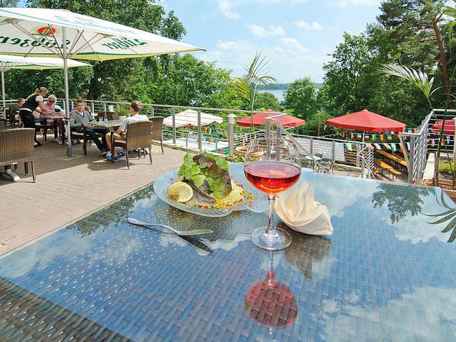 Restaurant Havelberge - Terrasse