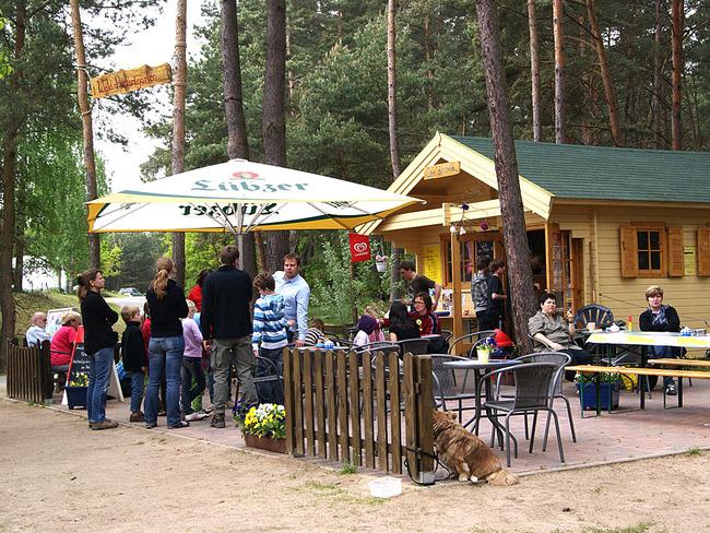 Hochseilgarten Havelberge - Kiosk