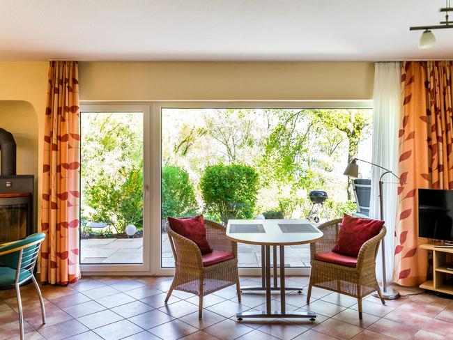 Ferienwohnung erdgeschoss ferienhaus kranichruf - Sitzgruppe wohnzimmer ...