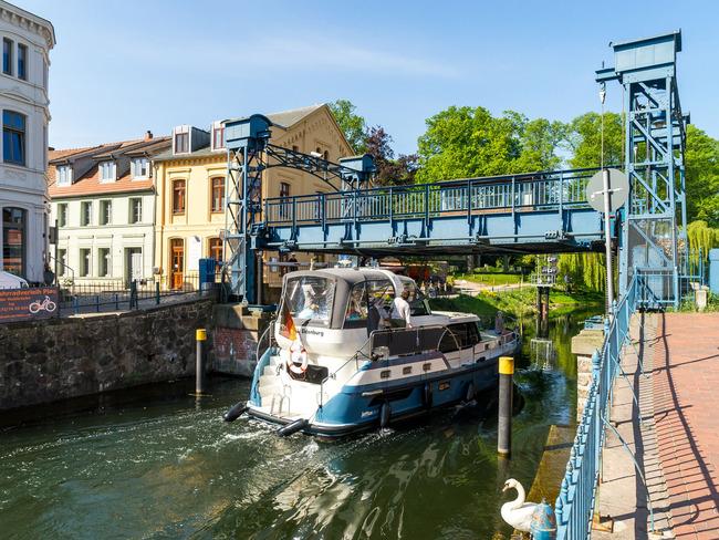 Hubbrücke Plau