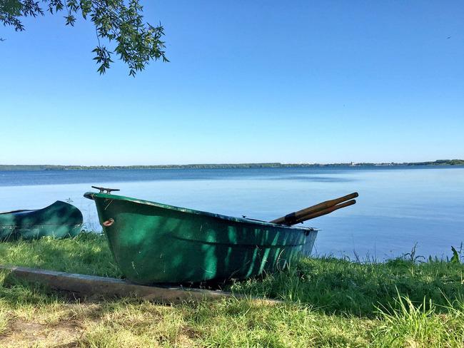 Boot am Schweriner See