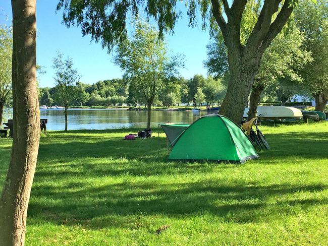 Campingplatz - Wiese