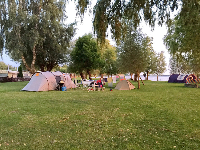 Campingplatz Zelte