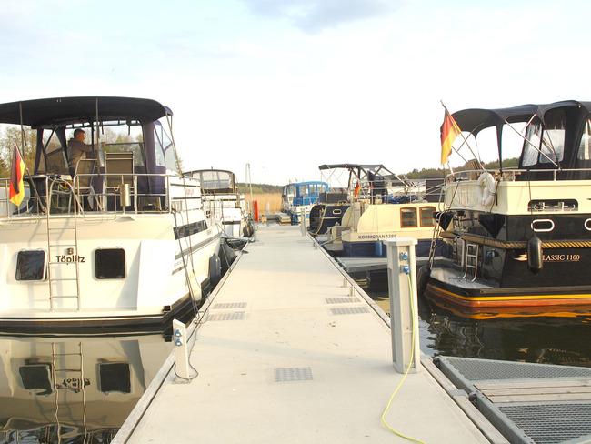 Yachthafen - Liegeplätze