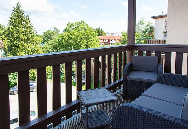 Fewo Uferpromenade - Balkon