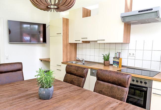 Fewo Uferpromenade - Wohnküche