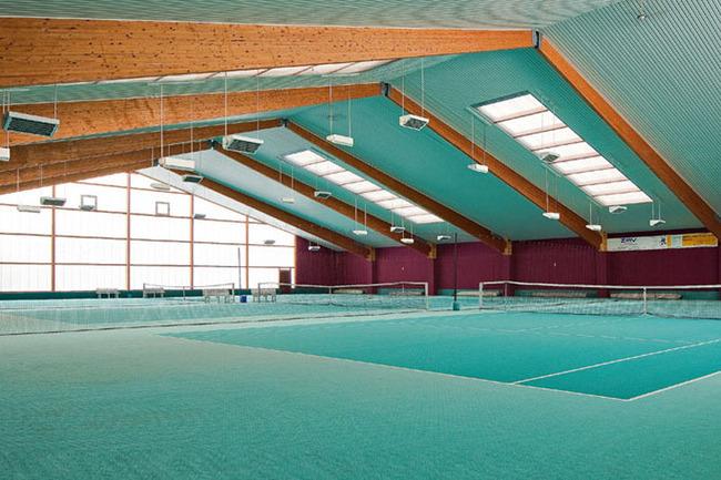Tennis- & Squash-Center - Ausschnitt