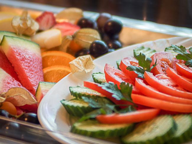 Gemüse-/Obstplatte