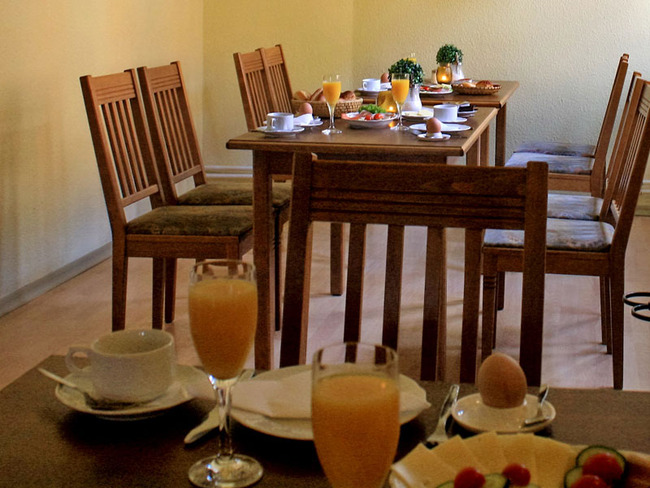 Gastraum - Frühstück
