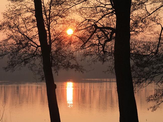 Hofsee - Sonnenaufgang