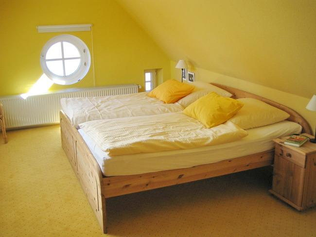 Hofwohnung - Schlafzimmer